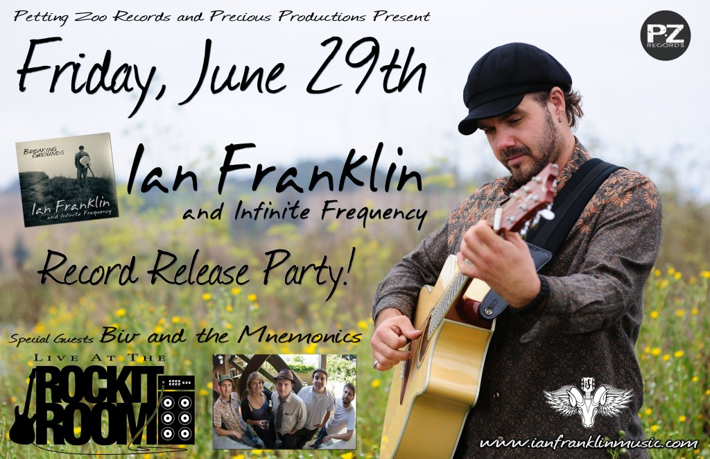 Breaking Grounds Release Party Poster June 29